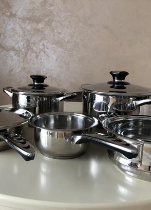 Набор посуды, kaiserbach. кастрюля, сковорода