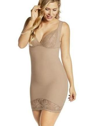 S / eur 36 /38 роскошное корректирующая комбинация моделирующее платье  утяжка esmara