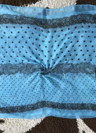 Индийский шарф палантин