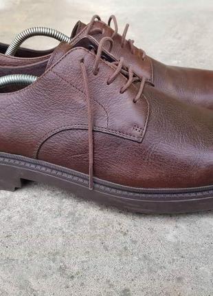 Туфли сamper usa, hardwood, vibram. размер - 44,5-45