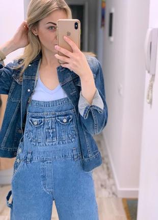 Джинсовый пиджак gap
