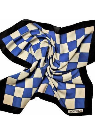 Винтажный шелковый платок louis feraud /1500/