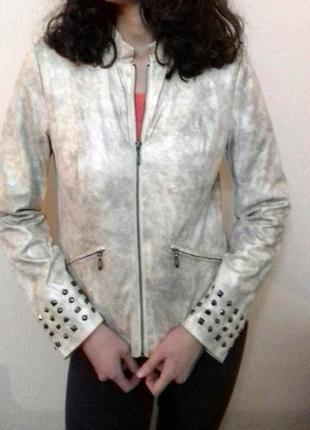 Стильная куртка жакет змеиный принт bonprix размер м