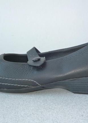 Туфли, балетки кожаные кожаные, очень удобные