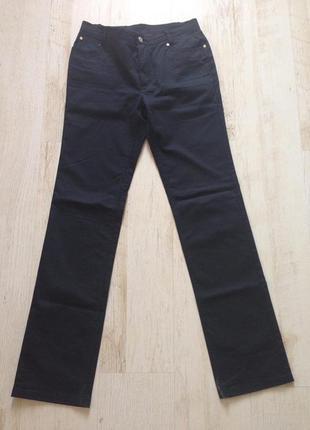 Джинсы брюки черные burberry оригинал раз.40 (пот 40-42)