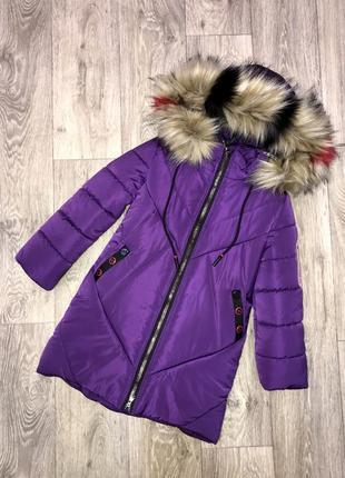 Внимание! распродажа! качественная зимняя куртка для девочки