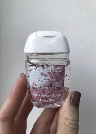 Pocketbac санитайзер, антисептик гелевый для рук, дезинфектор карманный для рук 30ml