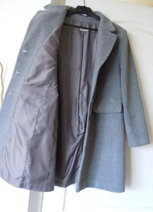 Пальто весняне (після хімчистки - видно бірку!!!) - 80% вовни