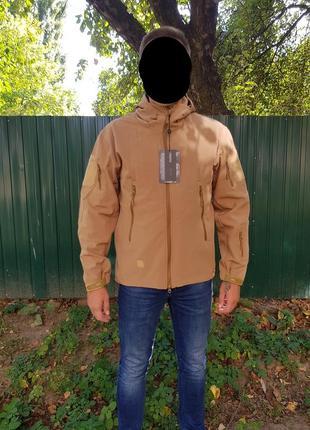 Распродажа - тактическая куртка esdy softshell tad v4.0 койот