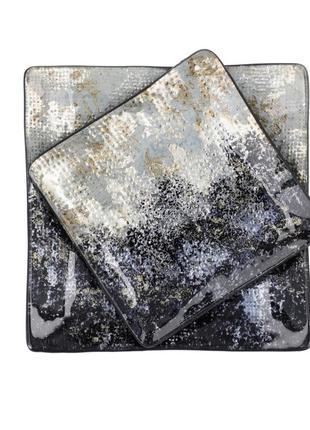 Фирменные декоративные тарелки lawrence grey home
