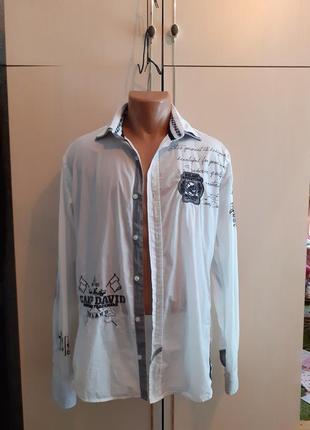 Рубашка мужская devid camp