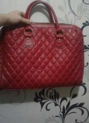 Красная сумка орифлейм oriflame