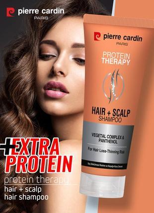 Шампунь против выпадения волос pierre cardin protein therapy