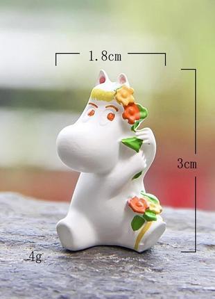Статуэтка фрекен снорк муми тролль фигурка игрушка бонсай миниатюра 1:12