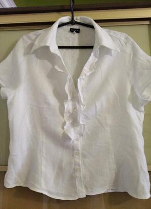 Блузка100 проц. лен sign