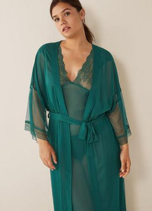 Прозрачный пеньюар халат women secret, размер м