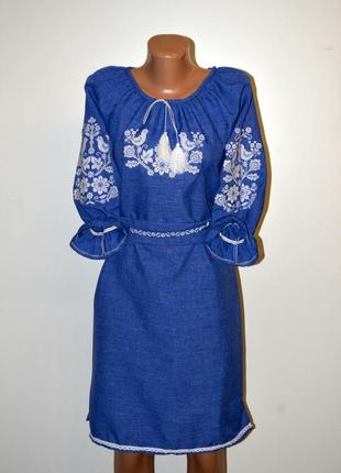 Вишиванка вышиванка вишита сукня, сукня з вишивкою розмір s,44-46