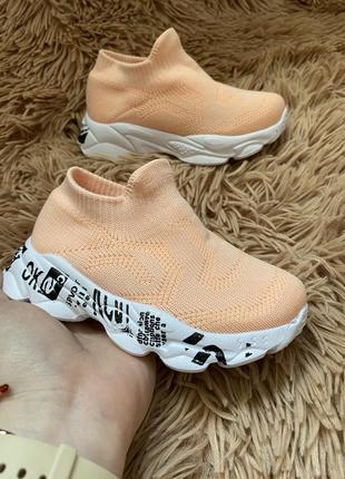 Обувь кроссовки мокасины детские для девочек