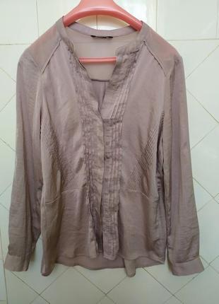Шикарная кремовая блуза.h&m