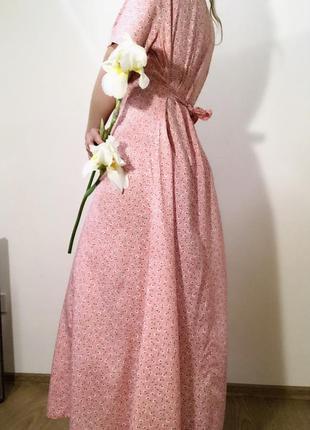 Красивое платье макси в стиле zara новое с биркой