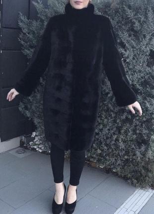 Норковая шуба blackglama