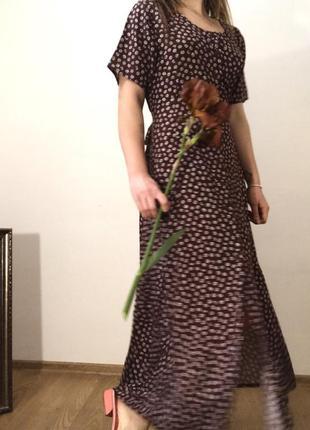 Красивое платье макси в стиле zara новое , с биркой