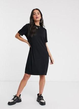 Платье-футболка миди длинны, м