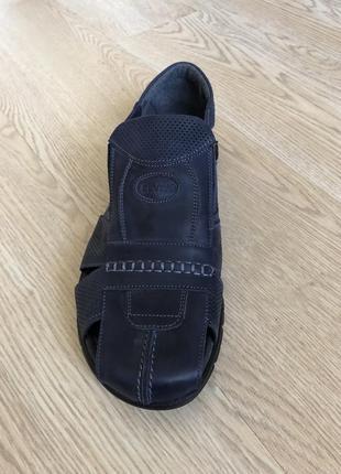 Босоножки, сандали кожаные про-во украины