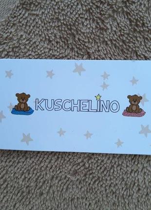 Детское махровое банное полотенце kuschelino мишки 100% хлопок турция3 фото