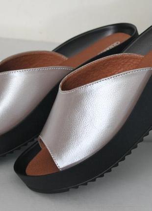 Сабо.мега удобные,для широкой ноги, кожа натуральная, 36-41р.