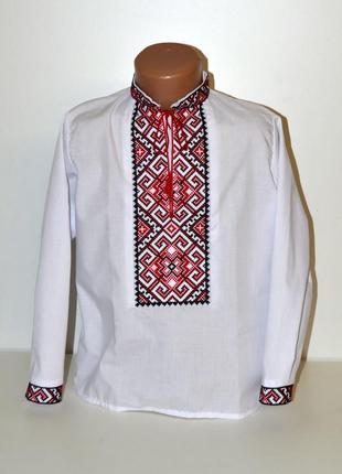 Вишиванка вышиванка сорочка з вишивкою для хлопчика 12 років
