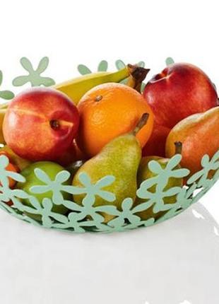 Шикарная качественная фруктовница 31 см ernesto. германия.