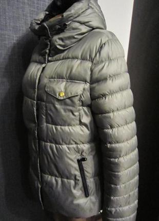 Классная    дутая куртка на синтепоне