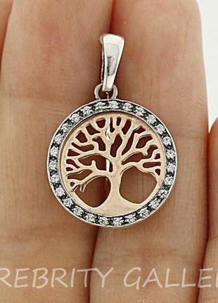 10% скидка подписчику кулон подвес серебряный дерево жизни i 362205 gd w серебро 925