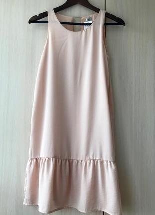 Легкое шелковое платье pimkie, цвет розовый кварц / s
