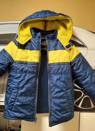 Демисезонная куртка на 4 года