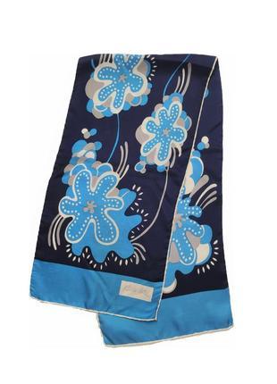 Винтажный шелковый шарф patricia duval /1505/