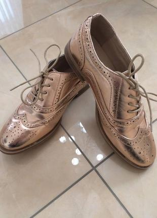 Стильные  женские туфли/ ботинки