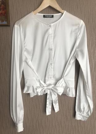 Атласна блуза fashion union