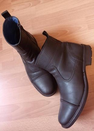 Англия! роскошные, добротные, красивые, кожаные ботинки, полуботинки, полусапоги, сапожки