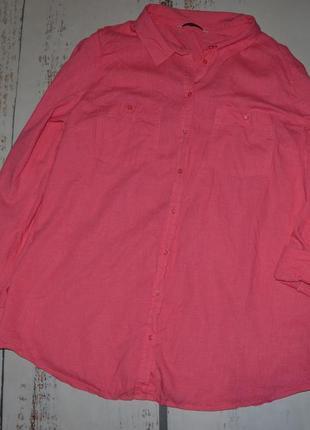 Льняная рубашка george 16 размер