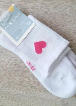 Махровые хлопковые носки c&a германия р.39/42