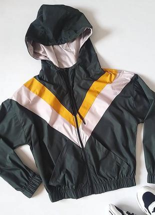 Куртка анорак ветровка плащевка