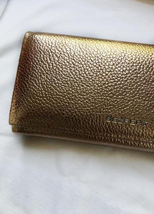 Женский кошелёк розовое золото