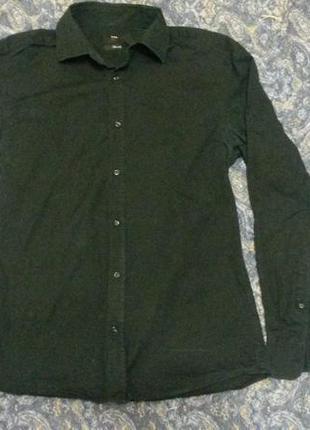 Рубашка приталенная h&m