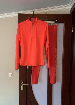 Nike беговая кофта для спорта оригинал