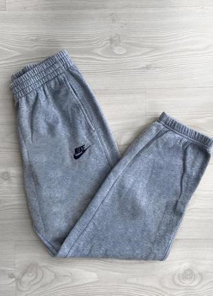 Спортивки спортивные штаны серые nike