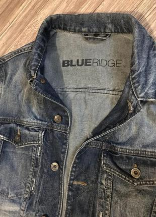 Мужская джинсовая куртка blue ridge