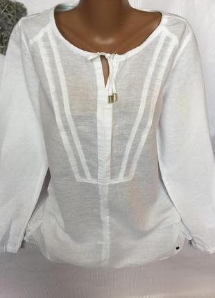Стильная легкая рубашка 60% лен