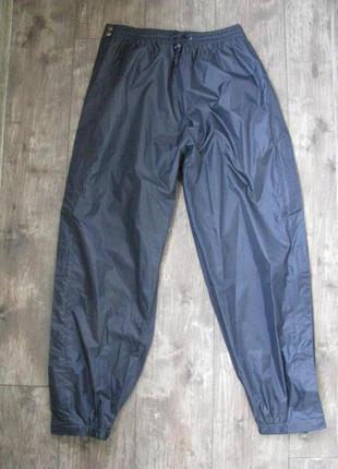 Штаны дождевики самоскиды l размер 48-50 водоотталкивающие непромокающие на подкладке